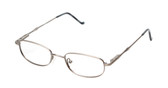 Reptile Designer Eyeglasses Monitor in Pewter :: Rx Bi-Focal