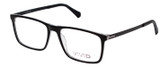 Vivid Designer Reading Eyeglasses 891 in Black/Crystal Clear 55 mm Rx SV