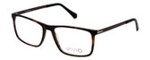 Vivid Designer Reading Eyeglasses 891 Matte Demi/Amber/Brown 55 mm Rx SV