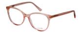 Vivid Designer Reading Eyeglasses Splash 75 in Pink Sparkle 52mm