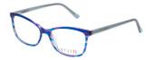 Vivid Designer Reading Eyeglasses 893 Marble Blue/Purple 52 mm Progressive