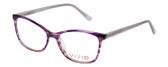 Vivid Designer Reading Eyeglasses 893 Marble Purple/Lavender 52 mm Bi-Focal