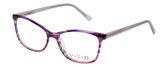 Vivid Designer Reading Eyeglasses 893 Marble Purple/Lavender 52 mm