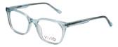 Vivid Designer Reading Eyeglasses 912 Crystal Blue Clear 51 mm Rx SV