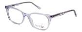 Vivid Designer Reading Eyeglasses 912 Glossy Crystal Clear 51 mm Rx SV