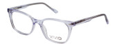 Vivid Designer Reading Eyeglasses 912 Glossy Crystal Clear 51 mm