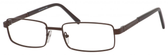 Dale Earnhardt, Jr Eyeglasses-Dale Jr 6802 in Matte Brown Frames 57mm Progressive