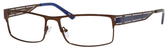 Dale Earnhardt, Jr Designer Eyeglasses 6798 in Brown Frames/Navy 60 mm