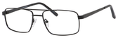Dale Earnhardt, Jr Designer Eyeglasses 6805 in Satin Black 56mm