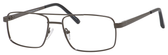 Dale Earnhardt, Jr Designer Eyeglasses 6805 in Satin Gunmetal 56mm Progressive
