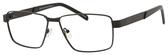 Dale Earnhardt, Jr Designer Eyeglasses-Dale Jr 6816 in Satin Black 60mm Progressive