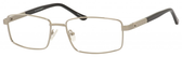 Dale Earnhardt, Jr Designer Eyeglasses -Dale Jr 6818 in Silver 57mm Custom Lens