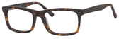 Esquire Designer Mens EQ1548 Reading Eyeglasses in Matte Tortoise 55 mm Progressive