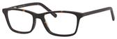 Ernest Hemingway H4683 Unisex Rectangular Eyeglasses in Matte Tortoise 52 mm Progressive
