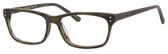 Ernest Hemingway H4684 Unisex Oval Reading Eyeglasses in Olive Green 53 mm