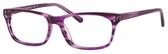 Ernest Hemingway H4684 Unisex Oval Reading Eyeglasses Purple 53 mm Progressive