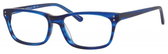 Ernest Hemingway H4687 Unisex Rectangular Eyeglasses in Brown/Tortoise 54 mm Custom Lens