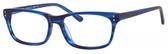 Ernest Hemingway H4687 Unisex Rectangular Eyeglasses in Brown/Tortoise 54 mm