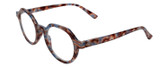 Calabria Elite Designer Unisex Round Reading Glasses R207 43 mm
