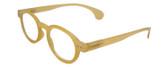 Calabria Elite Designer Unisex Round Reading Glasses R217 44 mm