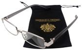Donald Trump Designer Metal Reading Glasses DTR 09 in Gunmetal Silver Gray 52mm