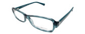 Emporio Armani Designer Reading Glasses EA3016-5101 in Blue Green 53mm