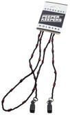 Peeper Keeper Beads Eyeglass Retianer in Black & Brown