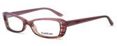 Bebe Designer Eyeglasses 5033 in Rose :: Custom Left & Right Lens
