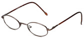 Calabria FlexPlus 84 Brown Eyeglasses :: Custom Left & Right Lens