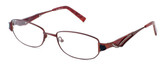 Calabria Designer Eyeglasses 824 Lavender :: Custom Left & Right Lens