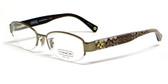 Coach Designer Eyeglasses 'Betsy' 5030-9002 52 mm :: Custom Left & Right Lens