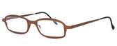 Harry Lary's French Optical Eyewear Bill Eyeglasses in Copper (882) :: Custom Left & Right Lens