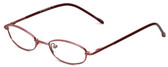 Calabria FlexPlus 100 Burgundy Eyeglasses :: Rx Single Vision