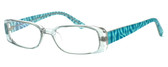 Moda Vision 8004 Designer Eyeglasses in Green :: Rx Single Vision