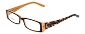 Calabria Designer Eyeglasses 815 Brown :: Rx Single Vision