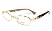 Coach Designer Eyeglasses 5054-9184 :: Rx Single Vision