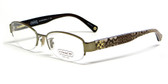Coach Designer Eyeglasses 'Betsy' 5030-9002 52 mm :: Rx Single Vision