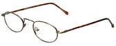 Calabria FlexPlus 62 Ant Gold Amber Eyeglasses :: Rx Progressive