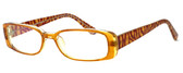 Moda Vision 8004 Designer Eyeglasses in Brown :: Rx Progressive