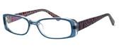 Moda Vision 8004 Designer Eyeglasses in Blue :: Rx Progressive