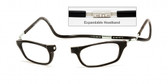 Clic Magnetic Eyewear XXL Fit Original Style in Black :: Rx Progressive