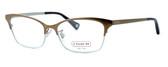 Coach Designer Eyeglasses 'Terri' 5041-9002 :: Rx Progressive