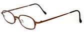 Harry Lary's French Optical Eyewear Bart Eyeglasses in Copper (882) :: Rx Progressive