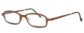 Harry Lary's French Optical Eyewear Bill Eyeglasses in Copper (882) :: Rx Progressive