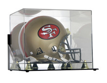 Deluxe Acrylic Football Helmet Display Case - Wall Mountable - OUT OF STOCK