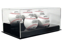 Acrylic Five Baseball Display Case - OUT OF STOCK