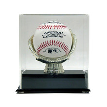 Acrylic Gold Glove Baseball Display Case - OUT OF STOCK