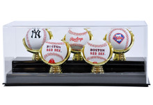 Acrylic Five Gold Glove Baseball Display Case - OUT OF STOCK