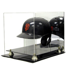 Deluxe Acrylic Baseball Helmet Display Case w/Stand - OUT OF STOCK