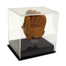 Acrylic Baseball Display Case w/ Mini Glove